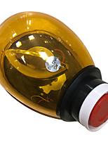 Une paire de couleur ambre d'alarme sonore et lumineuse de la lumière d'avertissement 10w (2 pièces)