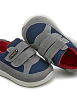 Девочки-Для прогулок Повседневный-Дерматин-На низком каблуке-Обувь для малышей-На плокой подошве