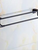 Wall Ranging  Towel Racks & Holders Modern Rectangle Brass