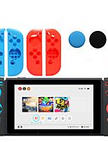 Nintendo Switch Gamepads Protective Case Non-Slip Button Random Delivery