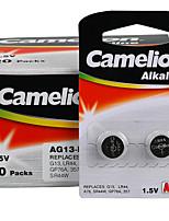 Camelion AG13 кнопки литиевой батареи щелочных аккумуляторов 1.5v 40 пак