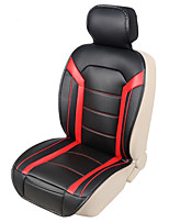 AUTOYOUTH Fashion Luxury PU Leather Car Seat Cushions 1PCS High Comfort Seat Covers the colored stitching pattern car-styling