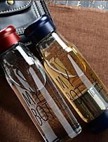 Transparente Ir Artigos para Bebida, 420 ml Filterable Vidro chá Suco Vidro
