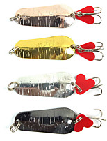 4 pçs Isco Duro Cores Aleatórias 0.006 g Onça mm polegada,Metal Pesca Geral