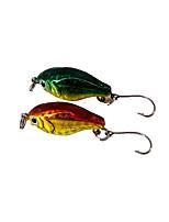 2 pcs Hard Bait Random Colors 5 g Ounce mm inch,Metal General Fishing