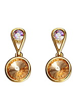 Drop Earrings Crystal Crystal Elegant Gold Jewelry Daily Casual 1 pair