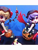 Figure Anime Azione Ispirato da Touhou Project Flandre Scarlet PVC 12 CM Giocattoli di modello Bambola giocattolo