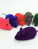 Cat Toy Dog Toy Pet Toys Ball Chew Toy Interactive Squeaking Toy Mouse Toy Squeak / Squeaking Durable Elastic Cartoon Halloween Mouse