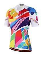 Camisa para Ciclismo Unissexo Manga Curta Moto Materiais Leves Redutor de Suor Camisa/Roupas Para Esporte Coolmax Primavera Verão Outono