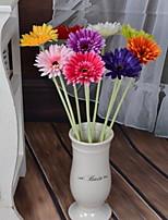1 Une succursale Plastique Autres Fleur de Table Fleurs artificielles 10*10*55