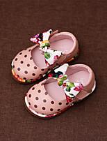 Бежевый Синий Розовый-Дети-Для прогулок Повседневный-Дерматин-На плоской подошве-Удобная обувь-На плокой подошве