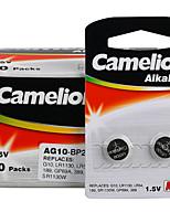 Camelion AG10 кнопки литиевой батареи щелочных аккумуляторов 1.5v 40 пак