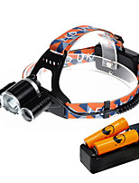 U'King® ZQ-X820D-EU CREE XM-L T6/2*R5 Headlamp 5000LM LED 4 Mode for Camping Hiking Bike Outdoor Red light