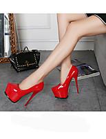 Для женщин-Свадьба Для вечеринки / ужина-Полиуретан-На шпильке-клуб Обувь-Обувь на каблуках