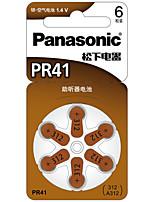 Panasonic пр-41ch клетка кнопки литиевая батарея 1.4V 6 шт