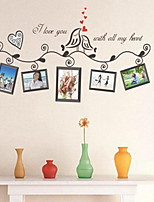 Shapes Wall Stickers Plane Wall Stickers Decorative Wall StickersVinyl Material Home Decoration Wall Decal