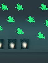 Bande dessinée Stickers muraux Autocollants muraux lumineux Autocollants muraux décoratifs,Vinyle Matériel Décoration d'intérieurCalque