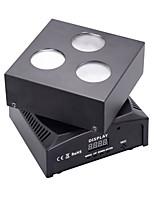 u'king® 50w 10w 3 * LED RGB efeito fase 10CH modos de master-slave luz DMX512 1pcs