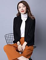 unterzeichnen im Frühjahr und Herbst koreanischen Frauen lose Strickjacke Pullover Temperament Herbst und Wintermantel weiblichen kurzen