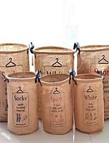 Boîte de Rangement Sacs de Conservation Paniers de Rangement Tissu avecFonctionnalité est Ouvert , Pour Sous-vêtement Tissu