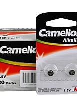 Camelion AG4 pilha alcalina botão célula moeda 1.5v 40 pacote