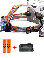 U'King® ZQ-X830BL#2-US CREE XML-T6 LED 2000LM Zoomable 180 Rotate 3Modes Headlamp Bike Light Kits with Rear Safety LED