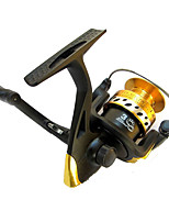 Fishing Reel Baitcast Reels 3.6:1 5 Ball Bearings Exchangable General Fishing-SF1000