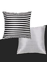 turqua purement noir& Housse de coussin blanc brillance canapé lumineux style tigré polyester / lit / chaise / coussin de canapé cas