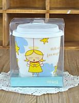 Cartoon Drinkware, 290 ml Decoration Ceramic Tea Juice Daily Drinkware