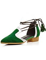 sandales printemps été partie du club chaussures en cuir&soirée décontractée talon bas
