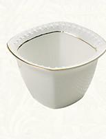 1 Pcs Ceramic Dining Bowl Dinnerware Afternoon Tea Bowl