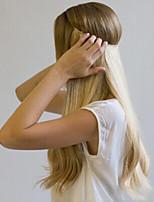 22 100% cabelo real invisível fio uma peça segredo cabelo humano extensões 80g