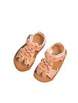 Черный Бежевый Розовый-Дети-Для прогулок Повседневный-Замша Дерматин-На плоской подошве-Удобная обувь-На плокой подошве