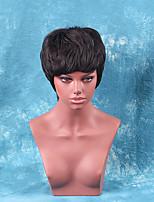 neue Art und Weise kurze Haare hochwertige Echthaar Perücke