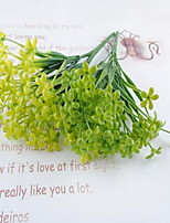 1 Branch Plastic Others Tabletop Flower Artificial Flowers Grass Milan Flower