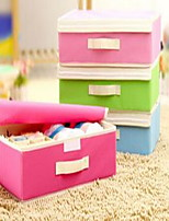 Storage Boxes Textile withFeature is Open  For Underwear Storage Box