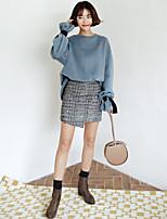 2016 зима новый корейский высокой талии юбки костюм пиджак +