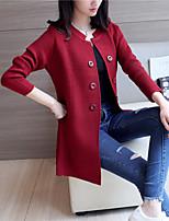 4540 # 2017 printemps femmes de grande taille chandail version manteau coréenne de la saison sections à manches longues et longues lâche