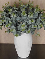 1 Branch Plastic Others Tabletop Flower Artificial Flowers Eucalyptus