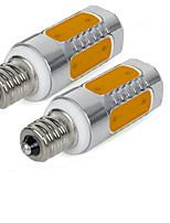 YouOKLight 2PCS E12 3W AC85-265V 5-COB Warm White/Cold White LED Bulb Light High Luminous True Power Super Bright For Home Lighting