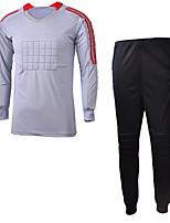 Unisex Fußball Kleidungs-Sets/Anzüge Frühling Sommer Herbst Winter Polyester Fussball Grün Rot Grau Schwarz Hellblau