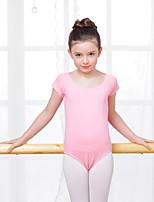 Балет Балетное трико Детские Учебный Хлопок Спандекс 1 шт. трико
