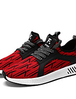 Men's Sneakers Spring Summer Fall Comfort Light Soles Tulle Outdoor Athletic Casual Flat Heel Lace-up Running Shoes