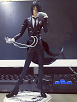 Anime Action Figures Inspired by Black Butler Sebastian Michaelis PVC 16 CM Model Toys Doll Toy 1pc