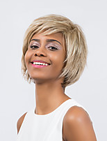 Enchanting  Ripe  Natural Prevailing   Mixed Color  Short Hair Synthetic Wig