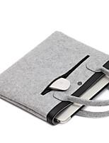 para el aire del macbook de la manzana / Pro de 13,3 pulgadas o menos mangas bolso bolsa de ordenador portátil sintió color sólido estilo