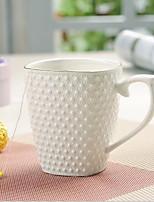 Minimalismo Artigos para Bebida, 350 ml Isolamento térmico Simples padrão geométrico Cerâmica chá Café Xícaras de Chá