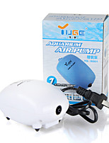 Aquarium Air Pump Energy Saving Noiseless 2.5W 1.8L/min 220V