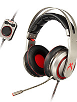 XIBERIA T19 Game Earphone LED Light Stereo Headband Glowing PC Gamer Headphones Super Bass 7.1 Usb Vibration Headphones With Mic