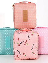 Storage Boxes Storage Baskets Makeups Storage Textile For Jewelry Portable Travel Suit Wash Bag Waterproof Random Pattern And Color